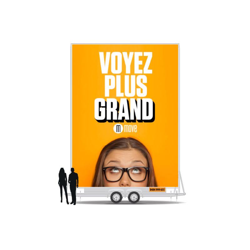 Media See Agence de communication et marketing - Remorque publicitaire