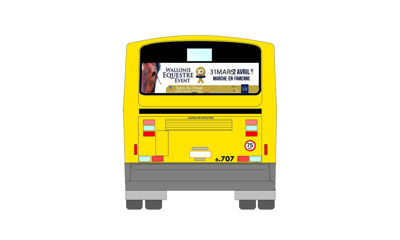 Lettrage bus